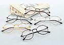 Ретро имиджевые очки Графит, фото 5
