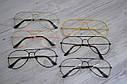 Имиджевые очки авиаторы капли унисекс Графит, фото 6