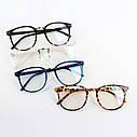 Имиджевые очки в тонкой оправе унисекс Леопард, фото 5