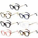 Имиджевые очки кошка  женские фигурные Чёрный, фото 3