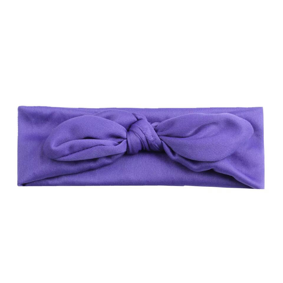 Повязка на голову для девочки солоха Фиолетовый