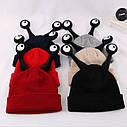 Детские шапочки улитка с глазами Бежевый, фото 6