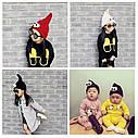 Детские шапочки гномик  с глазами Серый, фото 10
