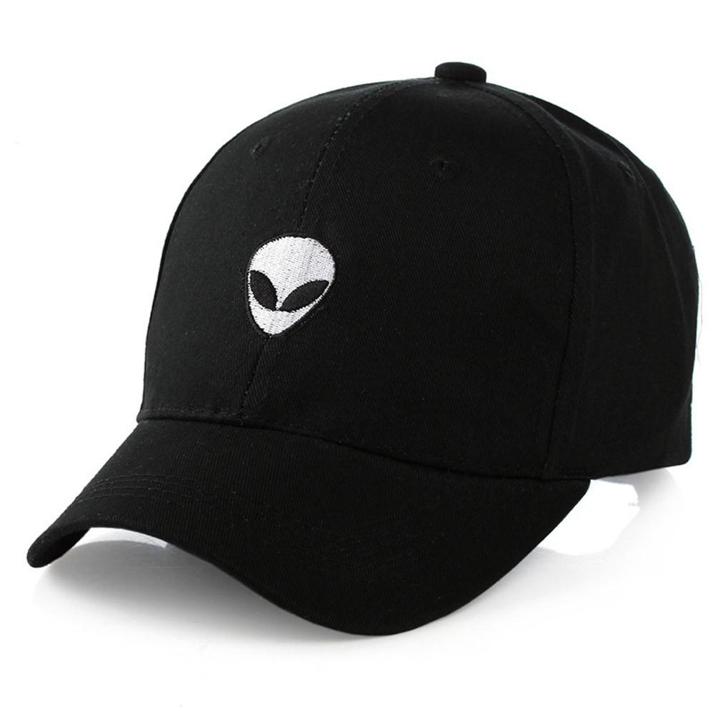 Кепка бейсболка НЛО Черная, Унисекс