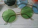 Цветные круглые очки тишейды Жёлтый, фото 3