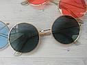 Цветные круглые очки тишейды Жёлтый, фото 6