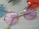 Цветные круглые очки тишейды Жёлтый, фото 7
