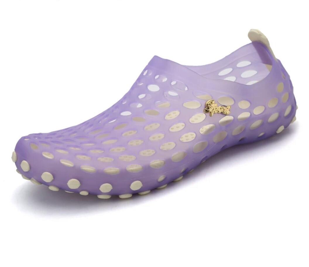 Женские аквашузы ( обувь для плавания) Сиреневый 40