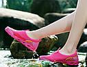 Женские летние кроссовки в сетку Розовый 37, фото 8