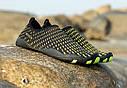 Летние пляжные кроссовки (аквашузы) Черный с жёлтым 45, фото 4