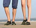 Летние пляжные кроссовки (аквашузы) Синий 45, фото 5