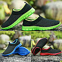 Весенне-летние кроссовки в 3 цветах Зеленый 44, фото 2