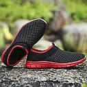 Весенне-летние кроссовки в 3 цветах Зеленый 44, фото 6