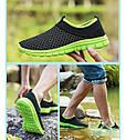 Весенне-летние кроссовки в 3 цветах Зеленый 44, фото 7