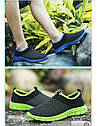 Весенне-летние кроссовки в 3 цветах Зеленый 44, фото 8