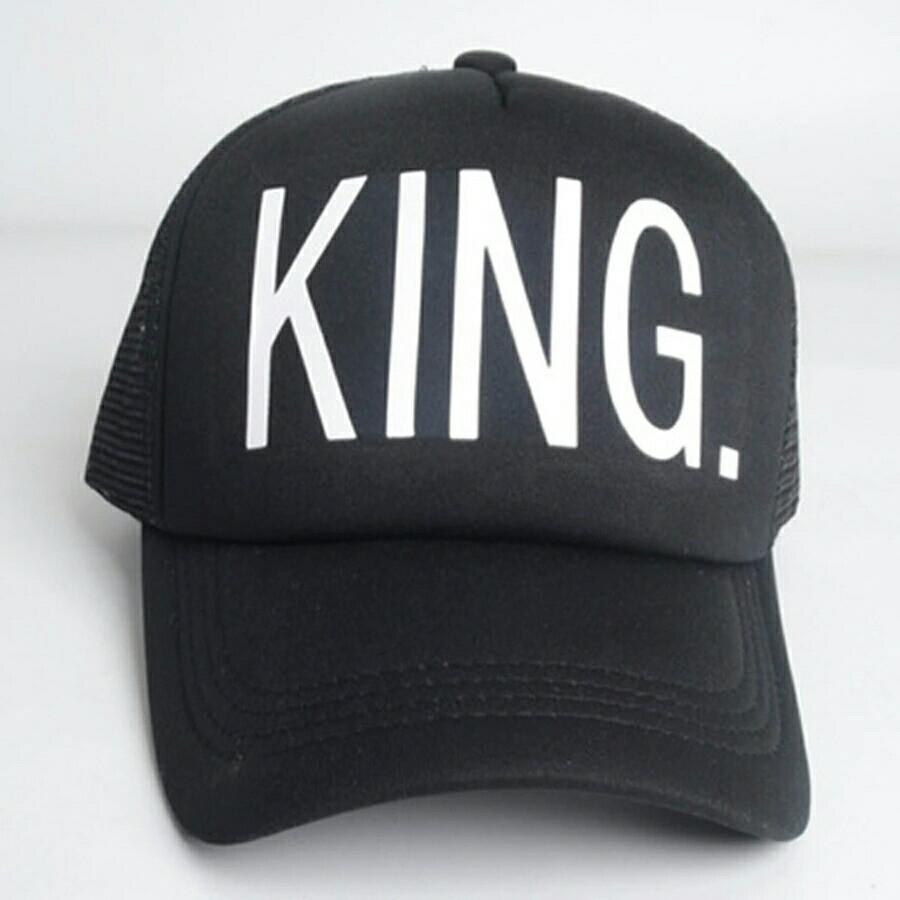 Кепка тракер King (Король) с сеточкой, Унисекс