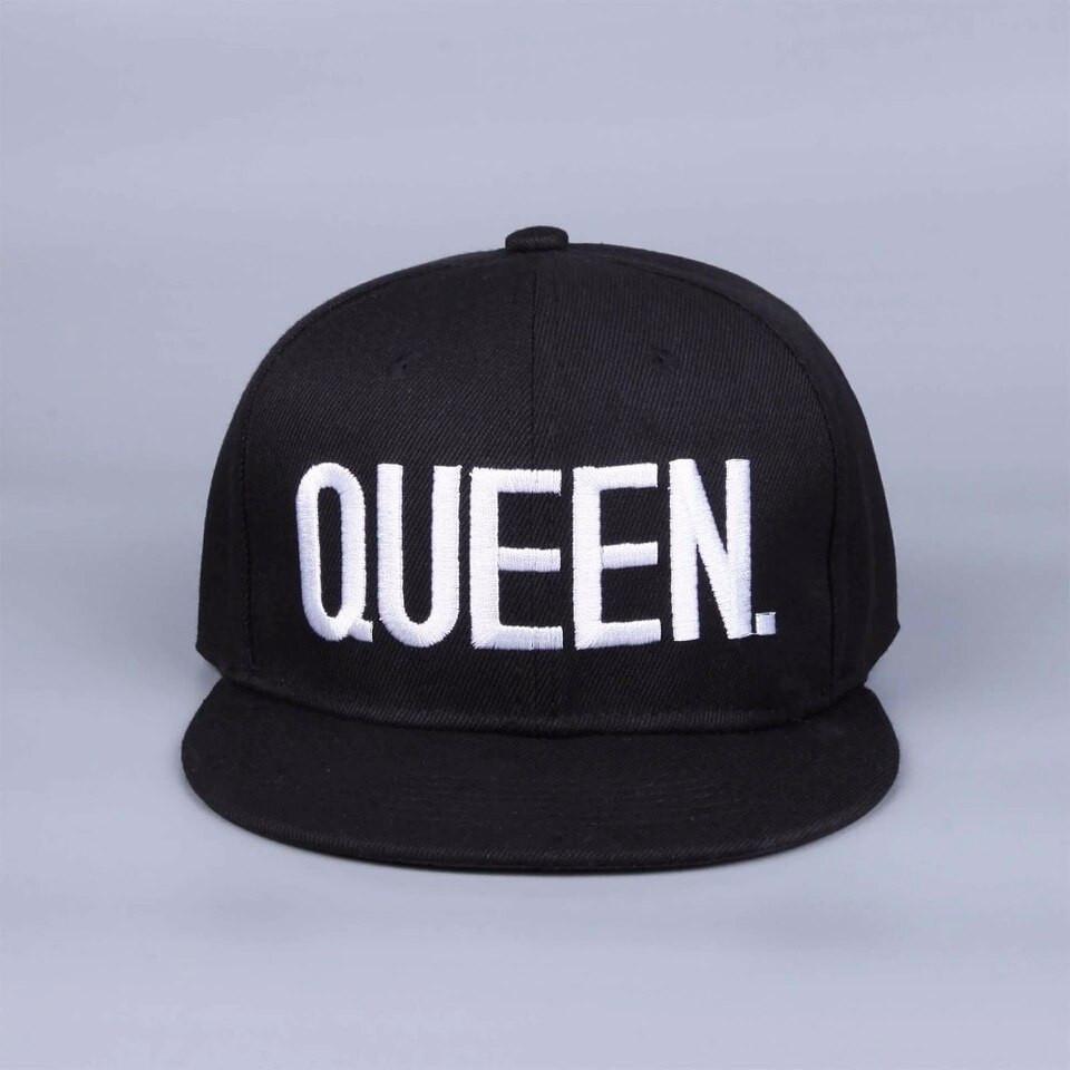 Кепка снепбек Queen (Королева) с прямым козырьком
