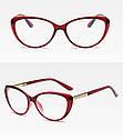 Имиджевые очки кошачий глаз Коричневый, фото 5