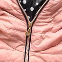Женская демисезонная куртка с капюшоном Тёмно-зеленый, фото 5