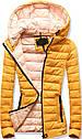 Женская осенне-весенняя демисезонная куртка Синий, фото 2