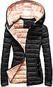 Женская осенне-весенняя демисезонная куртка Синий, фото 3