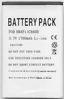 Aккумулятор PowerPlant Huawei HB4F1 (C8600)