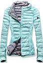 Женская осенне-весенняя демисезонная куртка  без капюшона Синий, фото 2