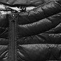 Женская осенне-весенняя демисезонная куртка  без капюшона Синий, фото 6