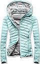 Женская стёганая осенне-весенняя демисезонная куртка  Розовый, фото 4