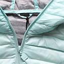 Женская стёганая осенне-весенняя демисезонная куртка  Розовый, фото 5