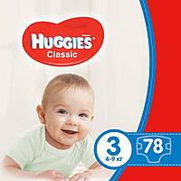 Подгузник Huggies Classic 3 Mega 78 шт (5029053543116)