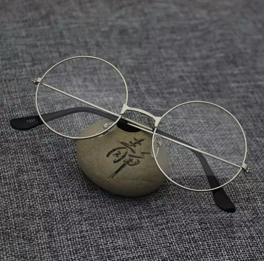 Круглые ретро имиджевые очки тишейды уценка