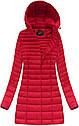 Длинная осенне-весенняя  куртка с капюшоном женская Чёрный, фото 3