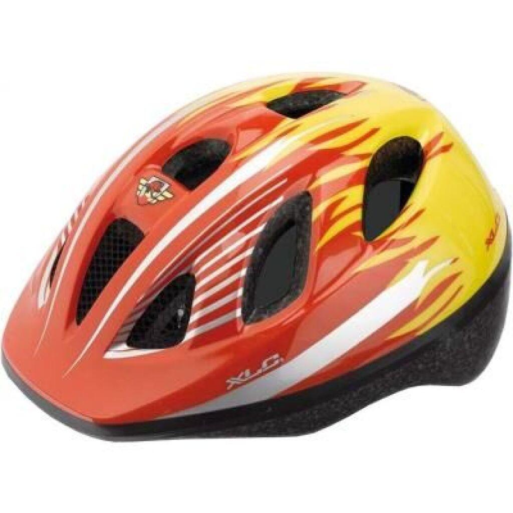 Шлем XLC BH-C16, красно-желтый, XS/S (49-54) детский (2500180000)