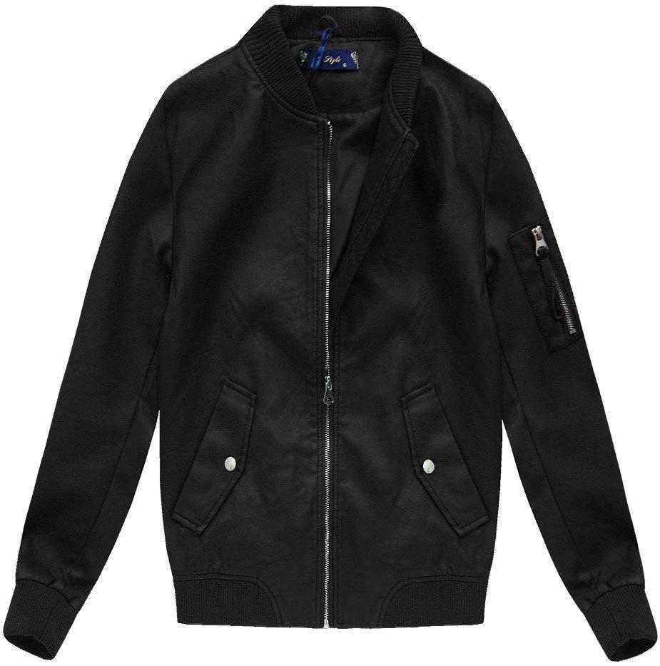 Женская осенне-весенняя  куртка бомбер Чёрный