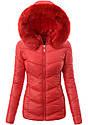 Женская зимняя стёганая куртка  с капюшоном №1 Серый, фото 4