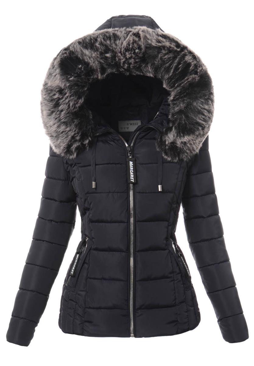 Женская зимняя стёганая куртка  с капюшоном №4 Синий