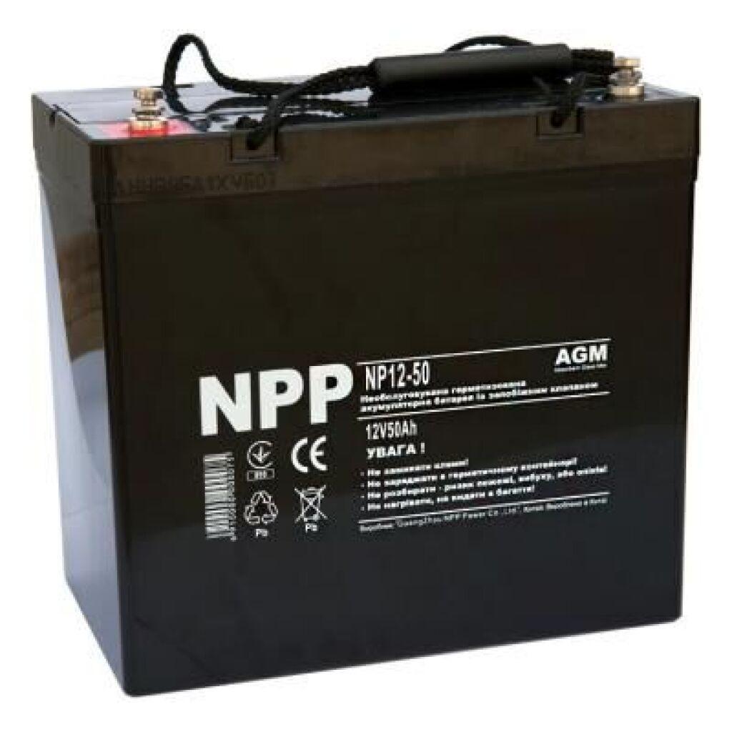 Батарея к ИБП NPP 12В 50 Ач (NP12-50)