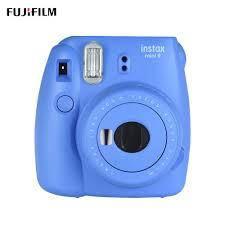 Мгновенные фотокамеры (Полароиды) Fujifilm INSTAX Mini LipLay black + вкладыш
