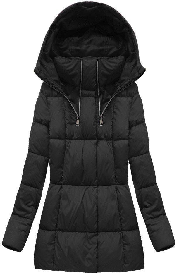 Куртка зимняя женская короткая Черный