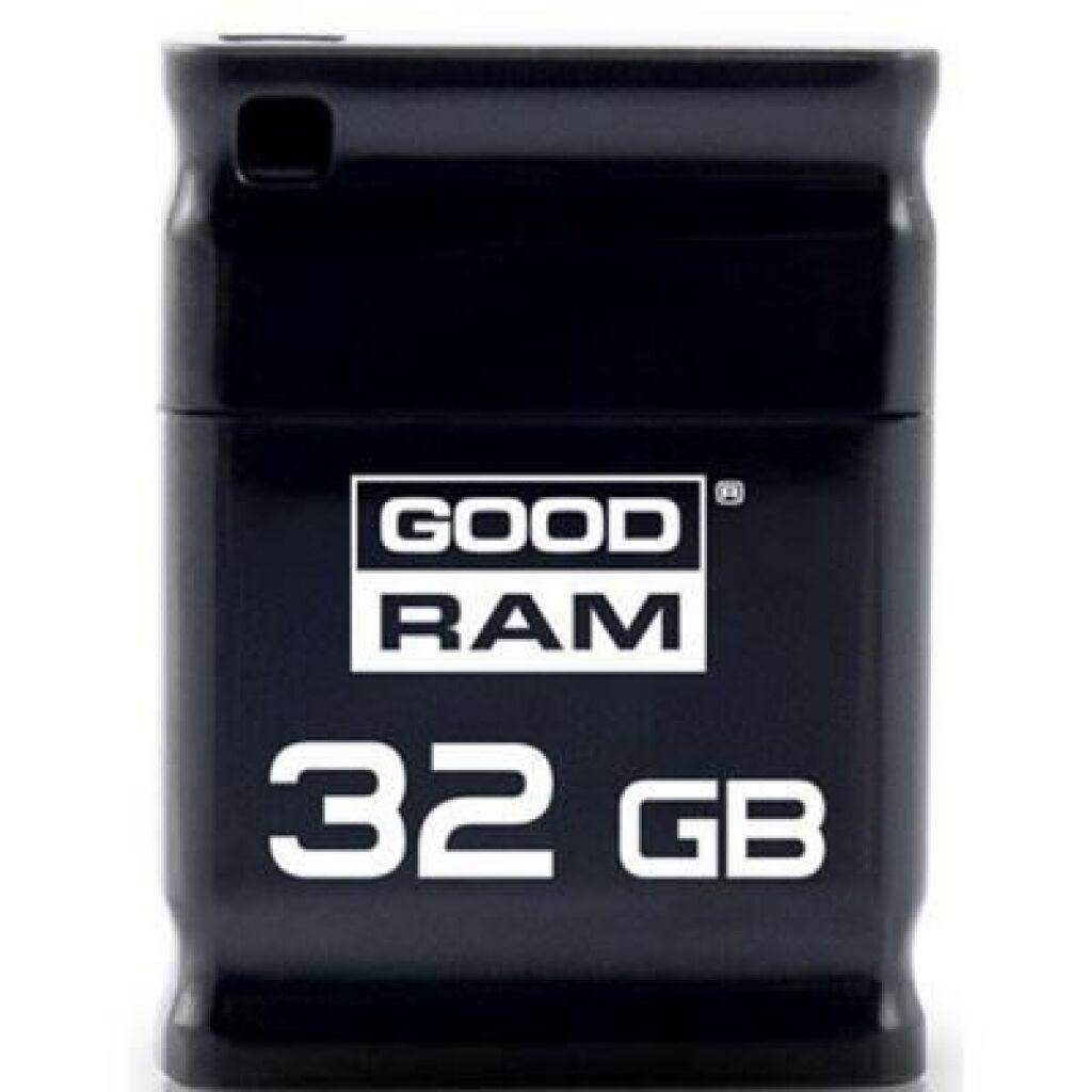 USB флеш накопитель GOODRAM 32GB Piccolo Black USB 2.0 (UPI2-0320K0R11)