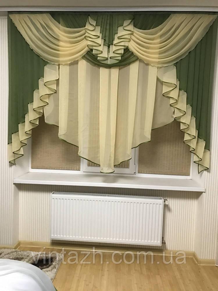 Шикарная кухонная занавеска в Украине от производителя