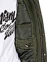 Куртка зимняя мужская парка с капюшоном Черный, фото 5