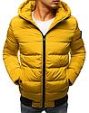 Мужская  зимняя куртка с капюшоном №1 синий, фото 2