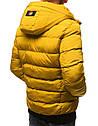 Мужская  зимняя куртка с капюшоном №1 синий, фото 5