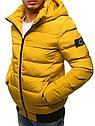 Мужская  зимняя куртка с капюшоном №1 синий, фото 6