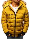 Мужская  зимняя куртка с капюшоном №3 Синий, фото 2