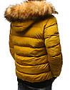 Мужская  зимняя куртка с капюшоном №3 Синий, фото 5