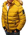 Мужская  зимняя куртка с капюшоном №3 Синий, фото 6