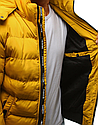 Мужская  зимняя куртка с капюшоном №3 Синий, фото 7